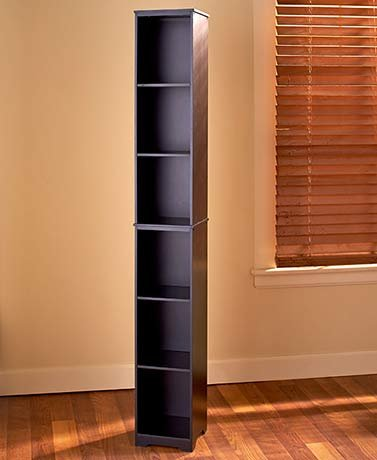 Charmant Slim Storage Towers Or Baskets ( Black Storage Tower )