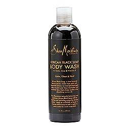SheaMoisture African Black Soap 13 oz. Body Wash