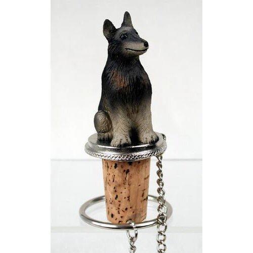 Belgian Tervuren Dog Bottle Buddy (3 in) Belgian Tervuren Dog Figurine
