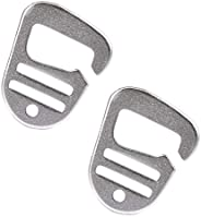 Colcolo 2 Pieces Metal G Hook Belt Buckles for Bag
