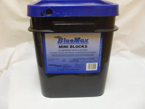 Generation BlueMax Mini Blocks Rat Mice Rodenticide-16Lbs by Liphatech Inc