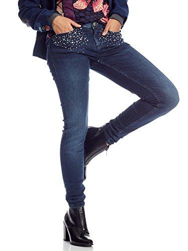 W30 Bri Jeans Desigual 2 Outlet Blu w8xHnF7qv