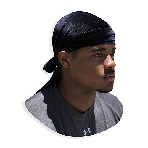 velvet du rag premium quality wave cap durag 360 waves long straps