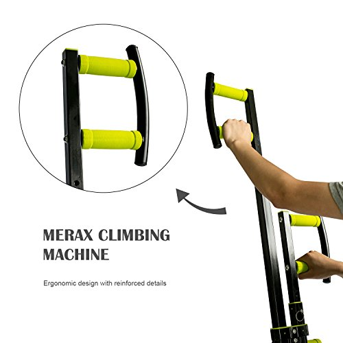 Vertical Climber Exercise Folding Climbing Machine by Merax