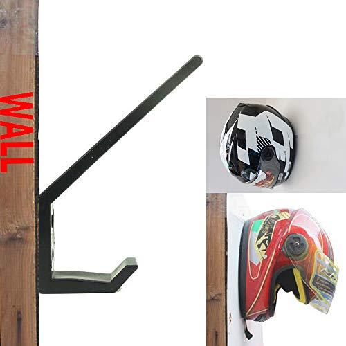 Invisible Helmet Rack Helmet Wall Display Rack Helmet Storage Holder Race Trailer Shop Garage Storage Organizer - Motorcycle Helmet Holder, Jacket Hanger, Motorbike Wall Mount Display Rack - No Helmet
