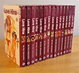 Complete set Manga Series: LOVE HINA, volumes 1-14