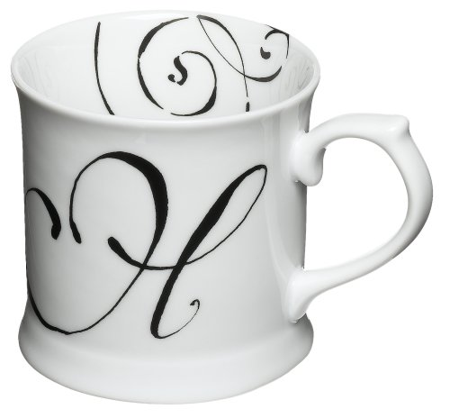 Rosanna Initially Yours Mug Letter H