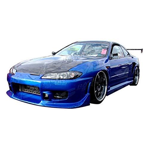 VIS Racing (VIS-BGC-942) OEM Style Hood Carbon Fiber - Compatible for Nissan SILVA S15 1999-2002 (1999 2000 2001 2002   99 00 01 02)