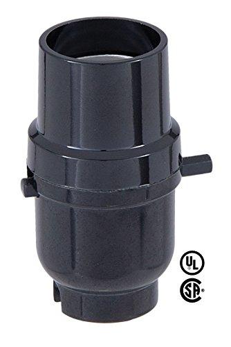 Sockets Push Light Through - B&P Lamp Plastic Push Thru Socket