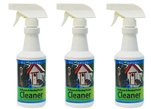 Care Free Enzymes 3-Pack Birdhouse, Nesting Pocket & Gourd Cleaner Spray Bottle 16 oz. by Care Free Enzymes