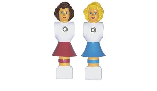 Automaten Hoffmann - Muñecos de futbolín femeninos (universal, PCV ...