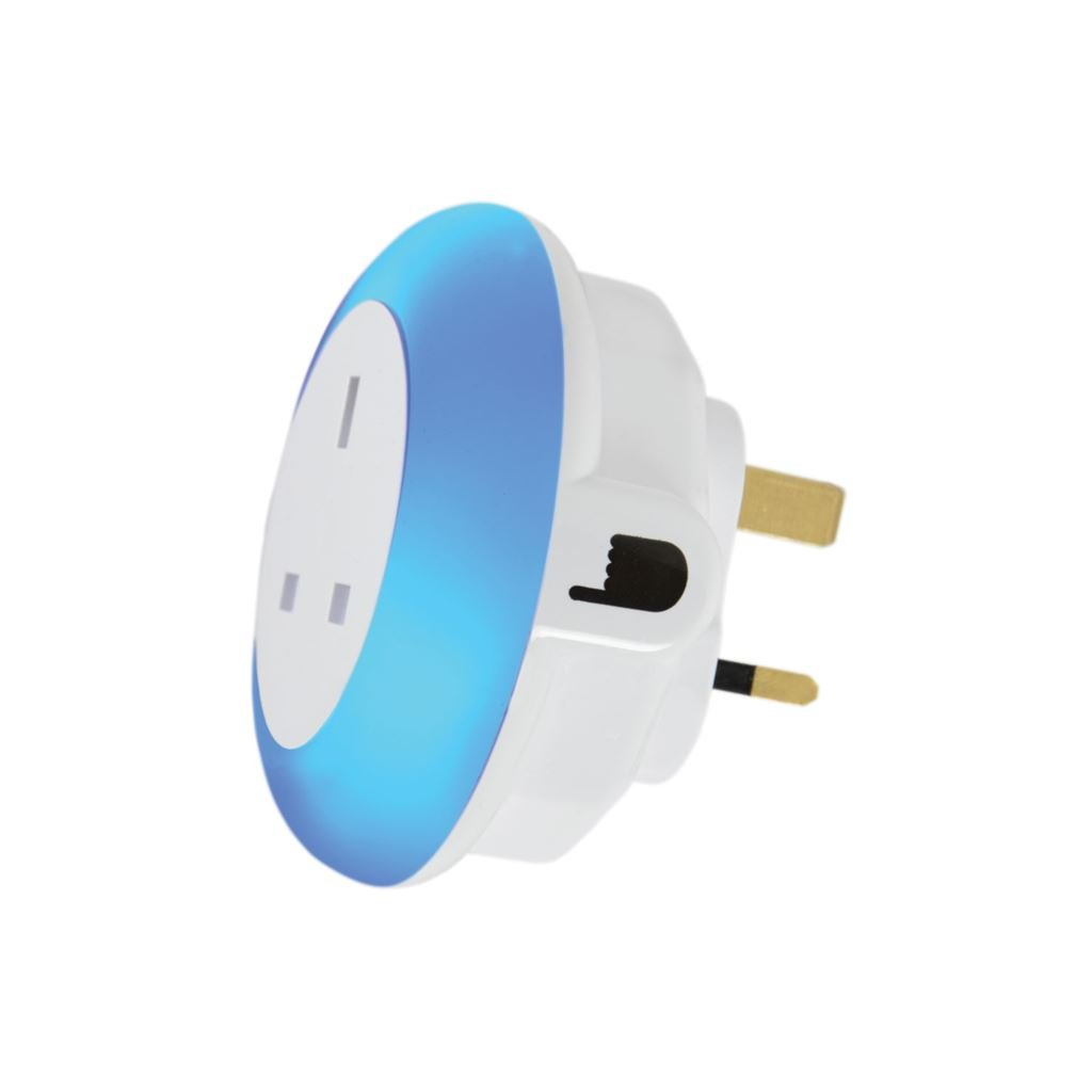 lyyt Plug Through LED Night Light Colour Select and: Amazon.co.uk ...