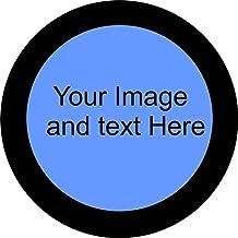 "CustomGrafixTireCovers™ Plain Black Vinyl Tire Cover 35""…"