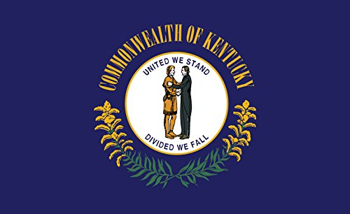 Gallopade Publishing Group Kentucky Flag Sticker (9780635116499) by GALLOPADE (Image #1)