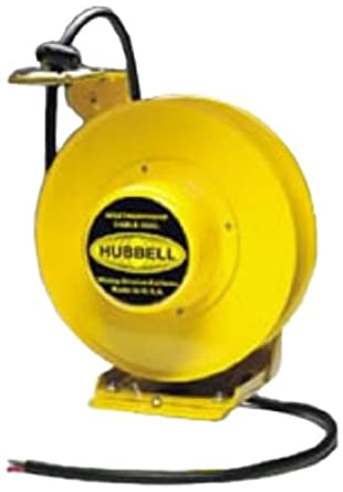 hubbell wiring systems hbl501431w weatherproof cable reel with wire rh amazon com hubbell wiring systems sa3082 hubbell wiring systems ig5262sa