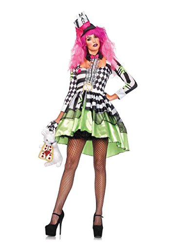 Leg Avenue Women's Deliriously Mad Hatter -