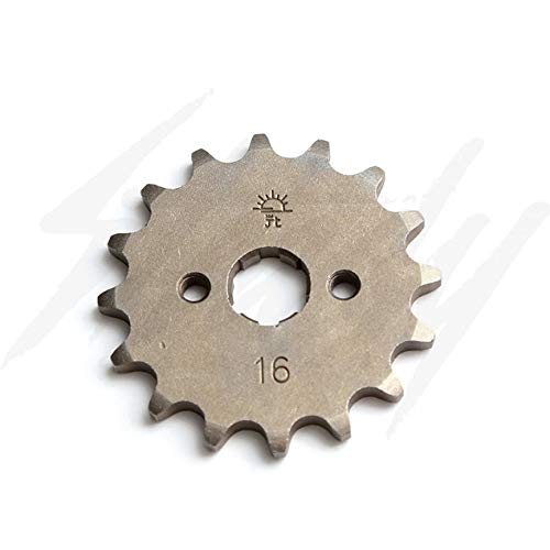 JT Steel Front Sprocket Kymco Spade 150-16 Tooth