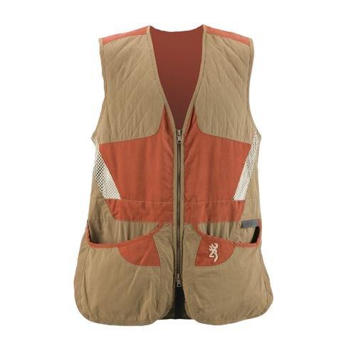 Browning Ladies Summit Vest, Brown/Cinnamon, X-Large