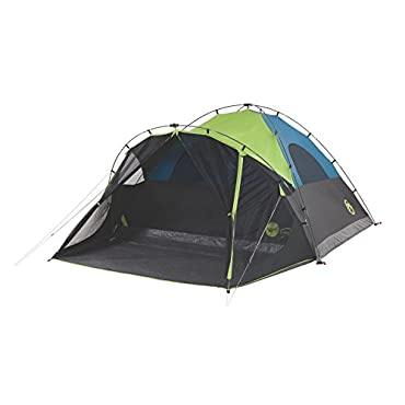 Coleman 6 Person Dark Room Fast Pitch Dome Camping Tent (2000033190)