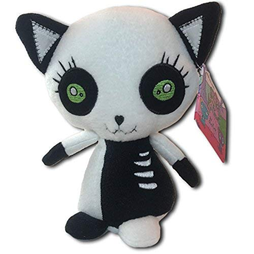 Stitch Kittens Zippy Plush Figure, White/Black