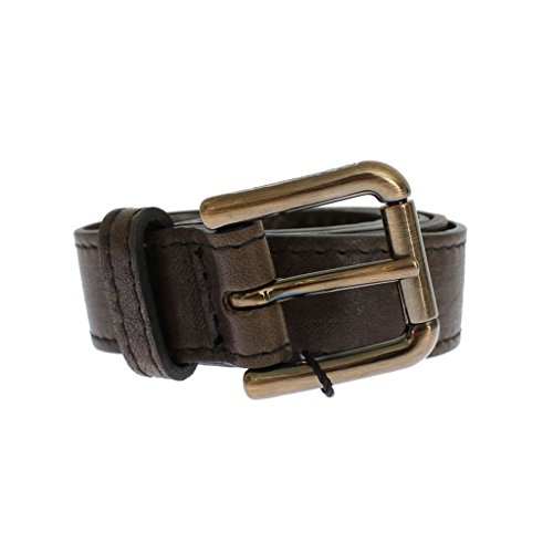 Gabbana Womens Belts (Dolce & Gabbana Brown leather belt)