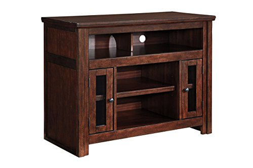 Ashley Furniture Signature Design - Harpan TV Stand - 42 in - Traditional Style - Brown Modern Traditional Tv Stand