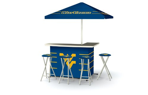 Ncaa Patio Cooler (Best of Times Collegiate Patio Bar and Tailgating Center Deluxe Package- West Virginia)