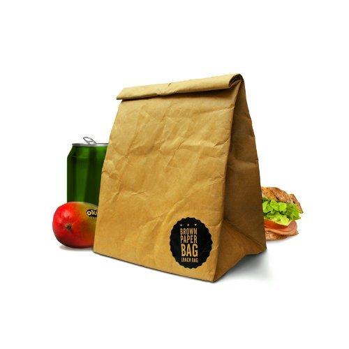 Luckies of London Brown Paper Lunch Bag, Garden, Lawn, Maintenance