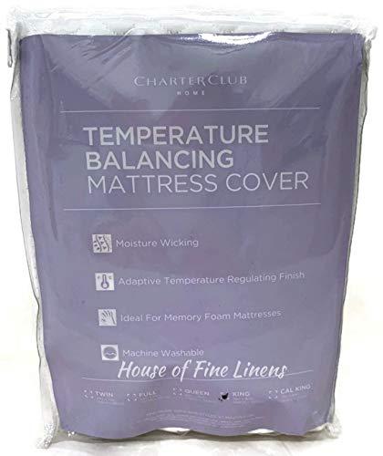 (Charter Club Adaptive Temperature Balancing King Mattress Protector)
