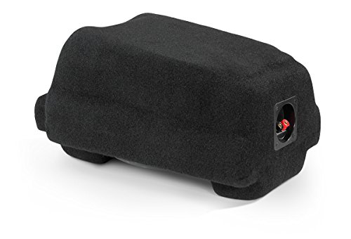 JL Audio SB-T-TUNCNSL2/10W3v3 Stealthbox® for 2003-2006 Toyota Tundra Access Cab / Double Cab with front bucket seats (SKU #94129) ()
