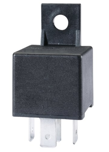 HELLA 933332161 24V 10/20A SPDT Mini ISO Relay with Resistor Coil Supression and Bracket