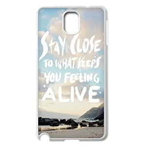 Custom Colorful Case for Samsung Galaxy Note 3 N9000, Stay Close Cover Case - HL-R681456