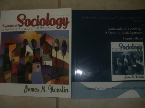 Essentials of Sociology: Down to Earth Approach Study Guide