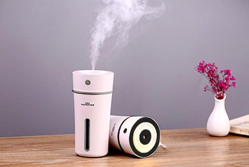 Cheap  Axbeauty USB Ultrasonic Cool Mist Humidifier, 300ml Heart Cup Style Mini Cute..