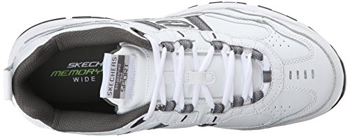 Us 2 Mens Serpentine Sport White Vigor 11 White charcoal 2e 0 Oxford Skechers charcoal