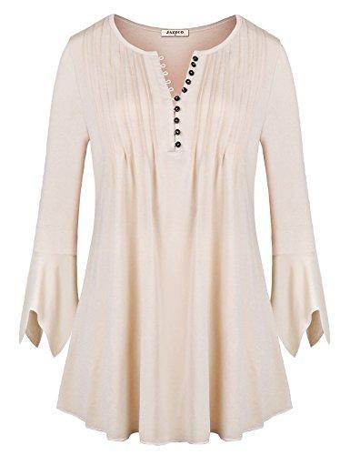 Beige Cotton Shirt - 5