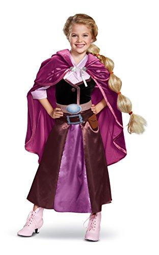 Disguise Rapunzel Season 2 Deluxe Child Costume, Purple, Size/(4-6x) -