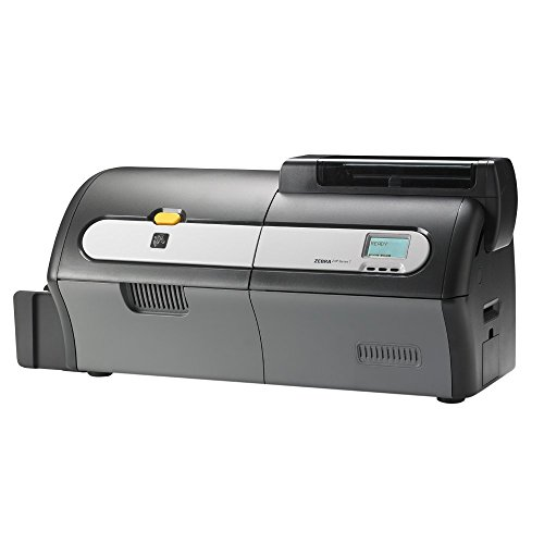 Zebra ZXP Series 7 Dual Sided ID Card Printer Package (Z72-000C0000US00) USB and Ethernet connectivity