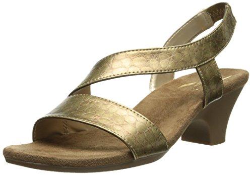 Aerosoles Mujeres Brasserie Dress Sandal Champagne