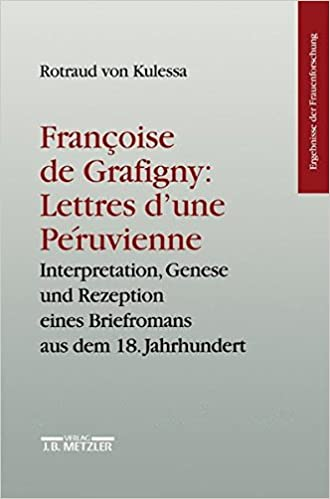 Book Francoise de Grafigny: