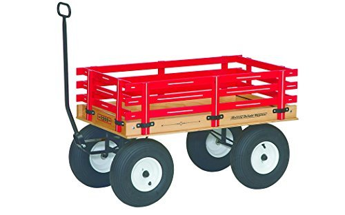 Amish-Made Rolling Delight Kid's Express Wagon with Locking Brake, Model 1200 by AmishToyBox.com
