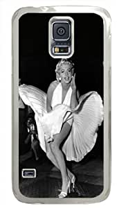 Monroe Marilyn Samsung Galaxy S5 Case,Classical Pose Personalized Case