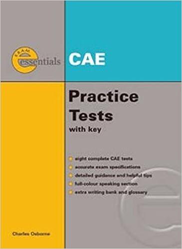 Exam Essentials: CAE Practice Tests: Charles Osborne