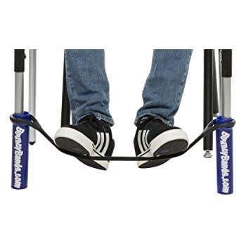 Bouncy Bands for Desks (Blue) ADHD Foot Fidgets