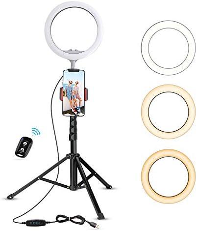 UBeesize Ringlight Photography Compatible Upgraded