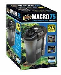 Zoo Med 78058 Macro External Canister Filter, 75 gallon by Zoo Med