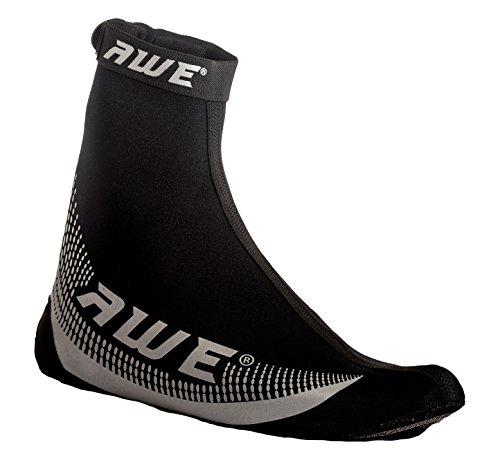 AWE® AWEBright™ 3M Scotchlite Sobre la cubierta del zapato Neoprene negro