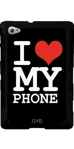 Funda para Samsung Galaxy Tab P6800 - Amo A Mi Teléfono by wamdesign