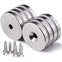 MB-THISTAR Lot 100 50 8mm x 3mm Neodymium Disc Strong Rare Earth N50 Small Fridge Magnet