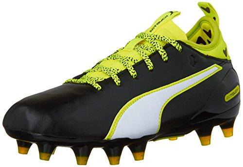 Negro 1 Puma Fg Safety Yellow Jr 5 Kid Boy 6 M Kids Sneaker Soccer Blanco Evotouch Kid big Big zqHnp4tq